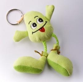 Sleutelhanger peer groen