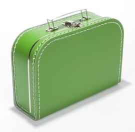 Koffertje 25cm | grasgroen