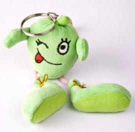 Sleutelhanger appel groen