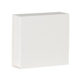 Wit blanco luciferdoosje