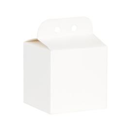 Witte klassieke kubus
