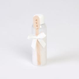 Zeezout met houten lepel