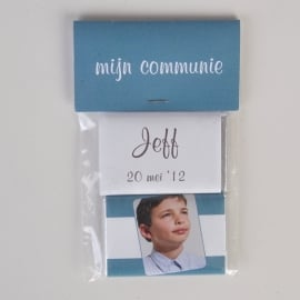 JEFF - zakje met 2 chocolaatjes van 9 gram