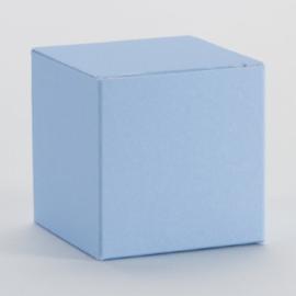 Lichtblauwe kubus