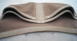 Spijkerschort XL camel/ taupe 1