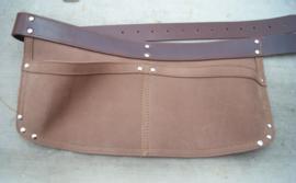 Spijkerschort Herman XL brede riem( extra stevig)