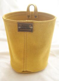 Bloempot (M) geel