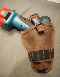 Schroefmachine holster