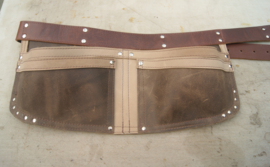 Spijkerschort XL (extra brede riem)