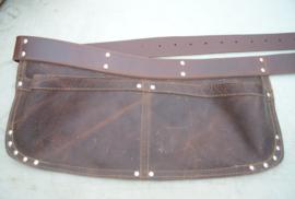 Spijkerschort Herman XL brede riem (extra stevig)