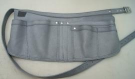 Spijkerschort Wim XL/ grijs