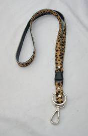 Key-cord Cheeta cognac