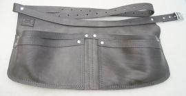 Spijkerschort XL Antraciet-grijs