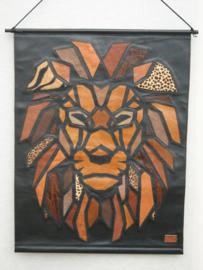 Poster van leer leeuw