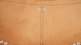 Spijkerschort geruwd bruin