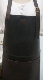 BBBB schort  donker bruin (gerecycled)