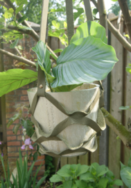 Plantenhanger olijf groen