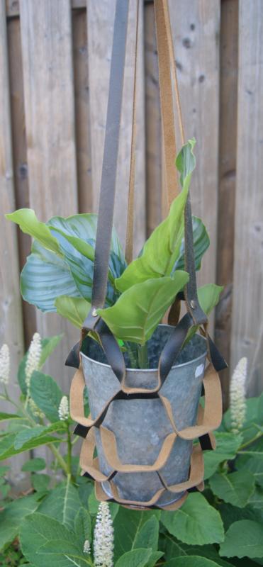 Plantenhanger vintage zwart