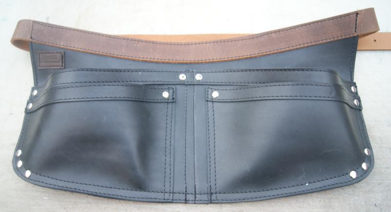 Spijkerschort XL zwart (extra stevig)