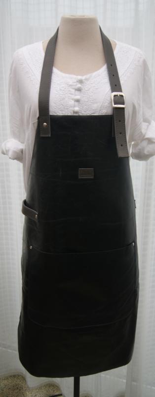 BBBB schort zwart (gerecycled leer)