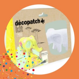Decopatch set Olifant