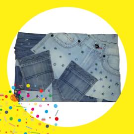 Kinderfeestje Memobord spijkerbroeken