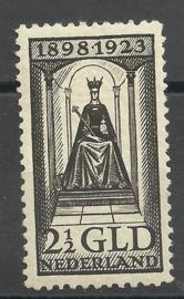 Nvph 130 2½ Gld Jubileum 1923 Ongebruikt (3)