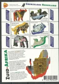 Nvph V2844/2849b Grenzeloos Nederland Zuid Afrika Postfris