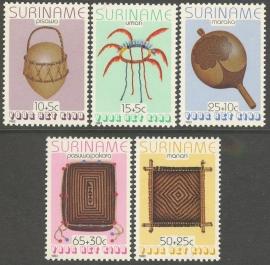 Suriname Republiek 374/378 Kinderzegels 1983 Postfris