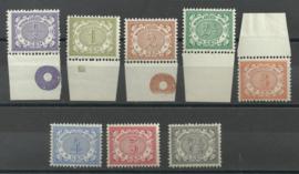 Nederlands Indië  40/47 Cijferzegels 1902/1909 Postfris (4)