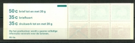 PZB 19a Postfris + Telblok