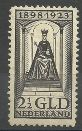 Nvph 130 2½ Gld Jubileum 1923 Ongebruikt (6)