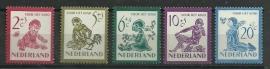 Nvph 563/567 Kinderzegels 1950 Postfris