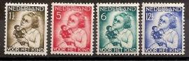 Nvph 270/273 Kinderzegels 1934 Ongebruikt