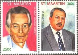 Sint Maarten 140/141 Helden 2013 Postfris