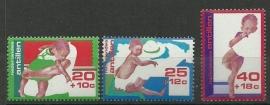 Nederlandse Antillen 525/527 Postfris