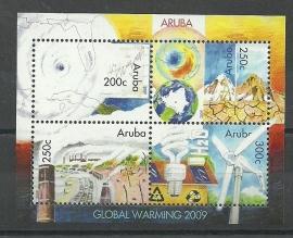 Aruba 423 Opwarming van de Aarde Postfris