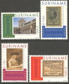 Suriname Republiek 1206/1209 300 Jaar Johan Enschede 2003 Postfris