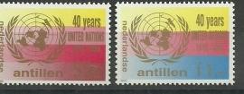 Nederlandse Antillen 813/814 Postfris