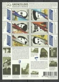 Nvph V2967/2972c Grenzeloos Nederland Indonesië Postfris