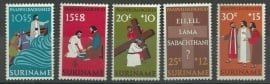 Suriname 595/599 Postfris
