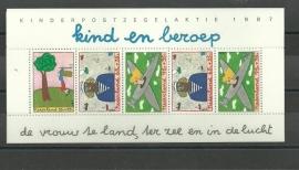 Nvph 1390 Kindervel 1987 Postfris