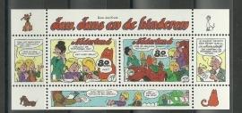 Nvph 1782 Blok Strippostzegels Postfris