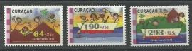 Curaçao Status Aparte 104/106 Kinderzegels 2012 Postfris