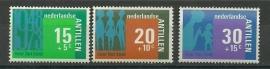 Nederlandse Antillen 481/483 Postfris