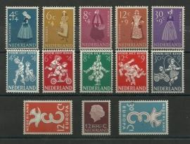 Complete Jaargang 1958 Postfris