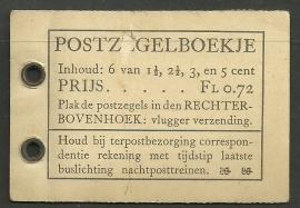 PZ 35a 4 × 6 (Nvph 172, 174, 175, 177) Roomkleurige Kaft (Bemerkingen)