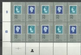 Plaatfout 1101 PM + 1102 PM1 in blok Postfris