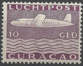 Luchtpost 86 10  Gld Vliegtuig Postfris (1)