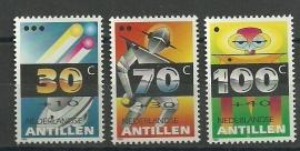 Nederlandse Antillen 1013/1015 Kinderzegels 1992 Postfris